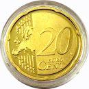 Portugal 20 Cent Kursmünze 2009 PP aus KMS