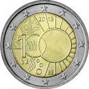 Belgien 2 Euro Gedenkmünze 2013 ST Meteorologisches...