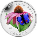 Kanada 20 Dollar 2013 PP Purple Coneflower and Eastern...