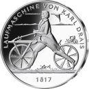 Deutschland 20 Euro 2017 PP Laufmaschine Drasine Silber...
