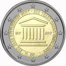 Belgien 2 Euro Gedenkmünze 2017 ST 200 Jahre...