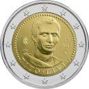 Italien 2 Euro Gedenkmünzen 2017 ST 2000. Todestag...