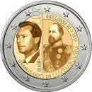 Luxemburg 2 Euro Gedenkmünze 2017 ST 200. Geburtstag...
