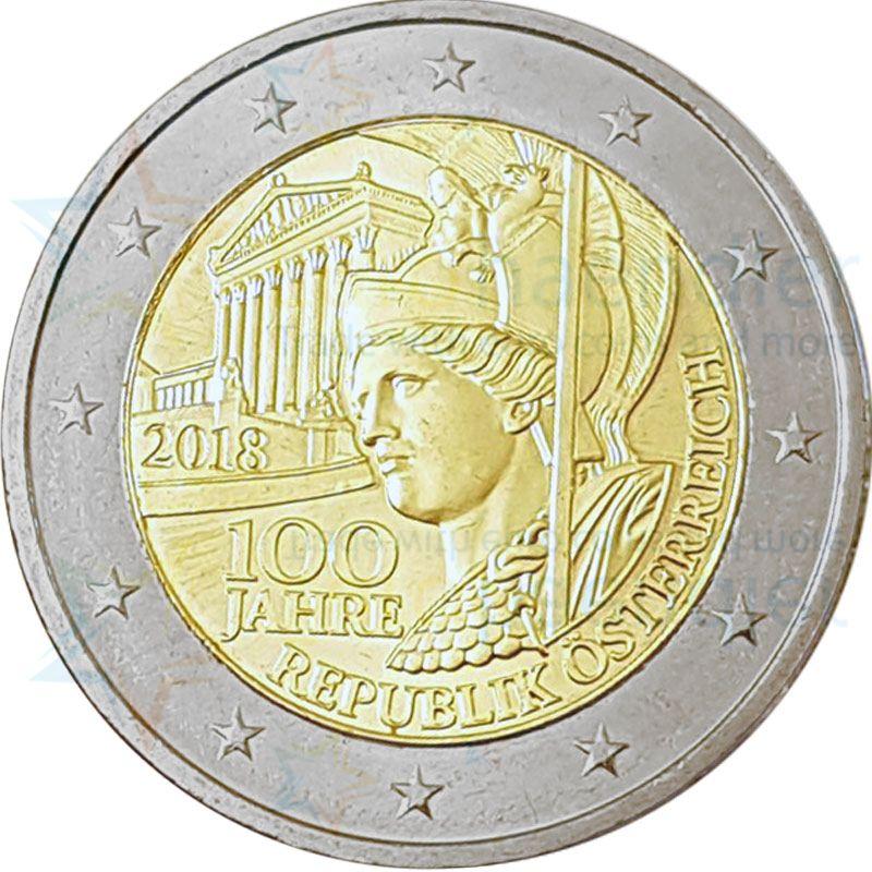 2 Euro Gedenkmünzen österreich Online Kaufen Bei Eurohändler
