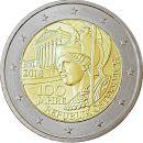 Österreich 2 Euro Gedenkmünze 2018 ST 100 Jahre...