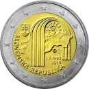 Slowakei 2 Euro Gedenkmünze 2018 ST 25 Jahre...