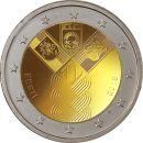Estland Litauen Lettland 3 x 2 Euro Gedenkmünze 2018...