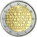 Portugal 2 Euro Gedenkmünze 2018 ST 250 Jahre...