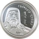 Mongolei 1000 Togrog 2014 PP Dschingis Khan 1Oz Silber...