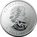 Kanada 8 Dollar Münze 2014 ST Polarfuchs 1,5 Oz...