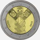 Estland 2 Euro Gedenkmünze Sondermünze 2018 ST...