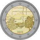 Finnland 2 Euro Gedenkmünze 2018 ST Finnische...