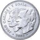 Spanien 12 Euro Gedenkmünze 2003 UNC Silber 25 Jahre...