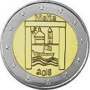 Malta 2 Euro Gedenkmünze 2018 UNC Solidarität...