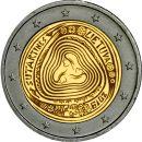 Litauen 2 Euro Gedenkmünze 2019 ST Volkslieder...