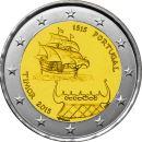 Portugal 25 x 2 Euro Gedenkmünze 2015 ST 500 Jahre...