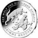 Deutschland 20 Euro 2020 PP Der Wolf die 7 Geißlein...