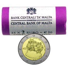 2 Euro Gedenkmünzen Rolle Malta Online Kaufen Bei Eurohändler
