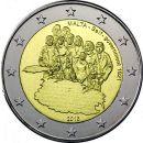 Malta 2 Euro Gedenkmünzen Sondermünzen 2013 ST...