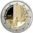 Deutschland 5 x 2 Euro Gedenkmünzen 2020 ST Kniefall...