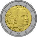 Finnland 2 Euro Gedenkmünze 2020 ST 100. Geburtstag...