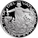 Vatikan 5 Euro 2020 PP Silber Welttag Migranten und...