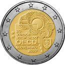 Slowakei 2 Euro Gedenkmünze 2020 ST Beitritt der...