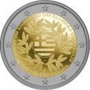 Griechenland 2 Euro Gedenkmünze 2021 PP 200 Jahre...