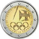 Portugal 2 Euro Gedenkmünze 2021 UNC Olympischen...