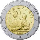 Italien 2 Euro Gedenkmünze 2021 UNC Grazie...