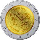 Estland 2 Euro Gedenkmünze 2021 UNC Finno Ugrische...
