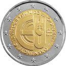 Slowakei 2 Euro Gedenkmünze 2014 ST 10 Jahre EU...
