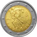 Italien 2 Euro Gedenkmünze Sondermünzen 2014 ST...