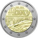 Frankreich 2 Euro Gedenkmünze 2014 UNC 70. Jahrestag...