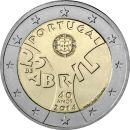 Portugal 2 Euro Gedenkmünze 2014 ST -...