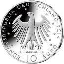 Deutschland 10 Euro Gedenkmünze 2014 PP Richard...