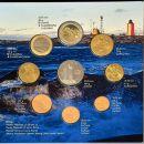 Finnland KMS 2007 ST 1 Cent - 2 Euro und Medaille im Folder