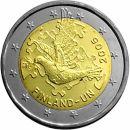 Finnland 2 Euro Gedenkmünze 2005 50 Jahre UN ST