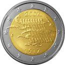 Finnland 2 Euro Gedenkmünze 2007 ST 90 Jahre...
