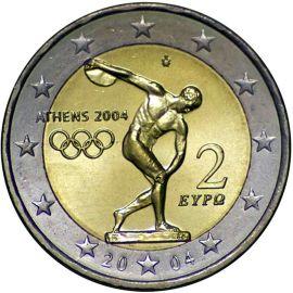 Griechenland 2 Euro Gedenkmünze 2004 ST Olympische Sommerspiele lose