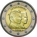 Luxemburg 2 Euro Gedenkmünze 2006 ST...