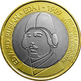 Slowenien 3 Euro Gedenkmünze 2009 ST 100 Jahre Motorflug lose